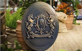 Фамильный герб, художественное литьё