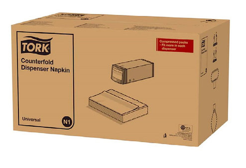 Tork Counterfold салфетки для настольных диспенсеров 10935, фото 2
