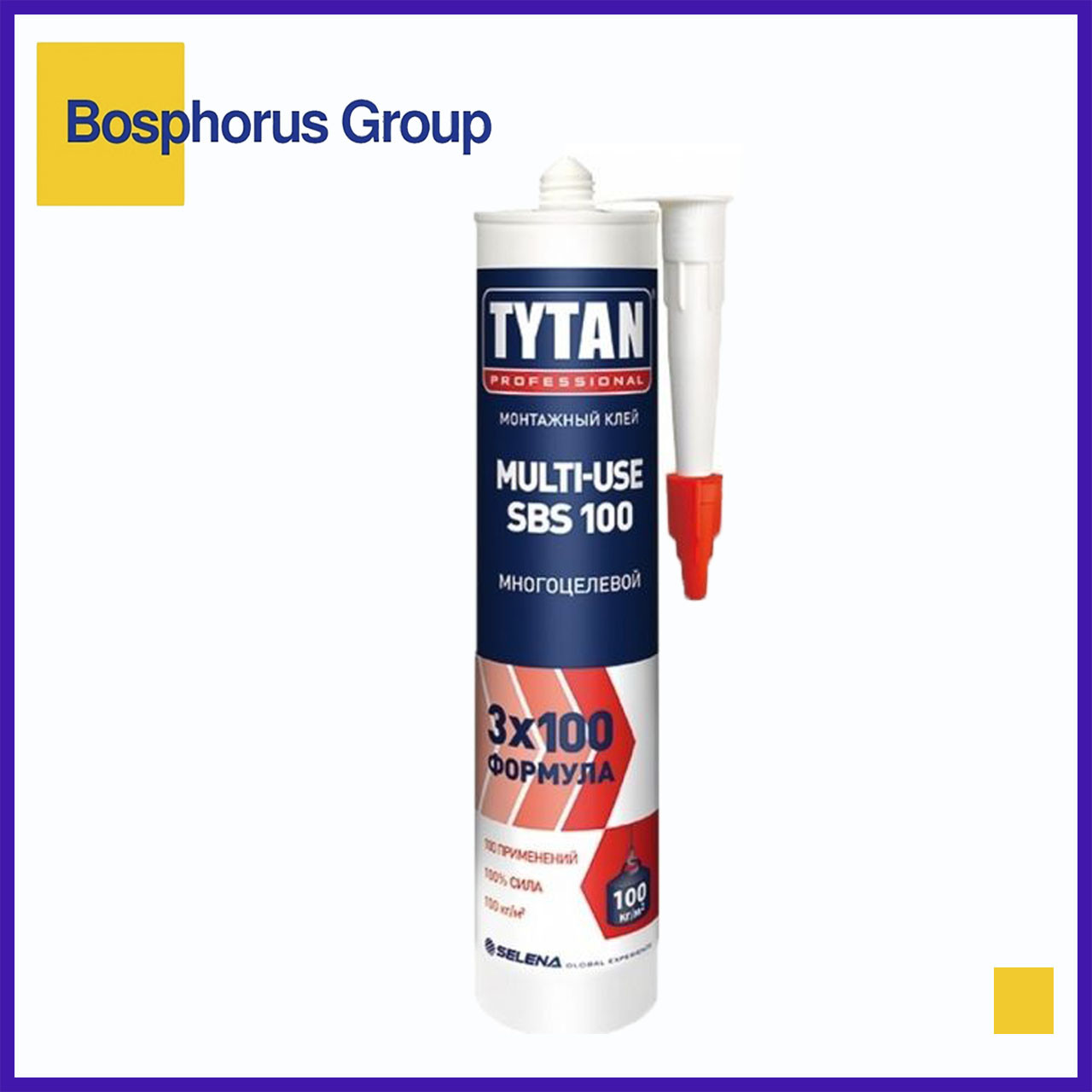 Клей монтажный TYTAN MULTI-USE SBS 901, бежевый