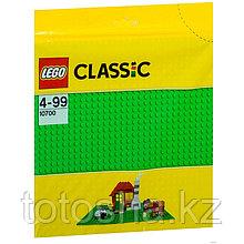 Lego Classic 10700 Строительная пластина зеленого цвета