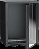 ITK Шкаф настенный LINEA W 12U 600х450мм дверь стекло RAL 9005