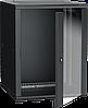 ITK Шкаф настенный LINEA W 15U 600х600мм дверь стекло RAL 9005