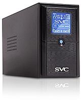 UPS, SVC, V-650-L-LCD, Мощность 650ВА/390Вт, Диапазон работы AVR: 165-275В