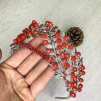 Корона для праздничных вечеринок (красная)