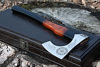 Кованый топор ручной работы Ancientsmithy в подарочной коробке axe-as-1+box