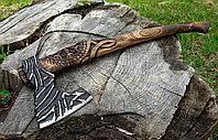 Кованый топор ручной работы Ancientsmithy axe-as-4