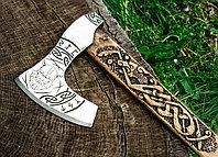 Кованый топор ручной работы Ancientsmithy axe-as-7