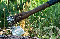 Кованый топор ручной работы Ancientsmithy axe-val-2