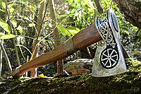 Кованый топор ручной работы Ancientsmithy axe-val-5