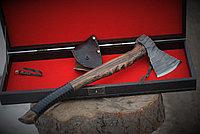 Кованый топор в подарочной коробке axe-15+box