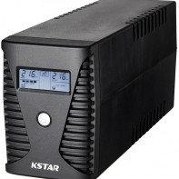 ИБП Kstar UA150 <1500VA/900W, 4 выхода, Led индикация, USB, RJ45, батарея 12V/9Ah