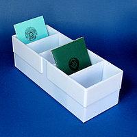 Лоток для трудовых книжек 11х10х30 см.