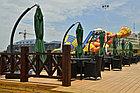 Зонт садовый Sanremo Lux (3.5х3.5) с подставкой, фото 4