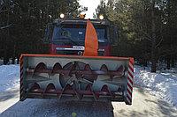 Шнекороторный снегоочиститель на самосвал КамАЗ, МАЗ, УРАЛ, Mercedes, Volvo, Scania