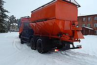 Watering equipment for any dump truck