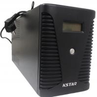 ИБП Kstar UA200 <2000VA/1200W, LCD дисплей, 4 выхода, USB, RJ45, батарея 12V/9Ah