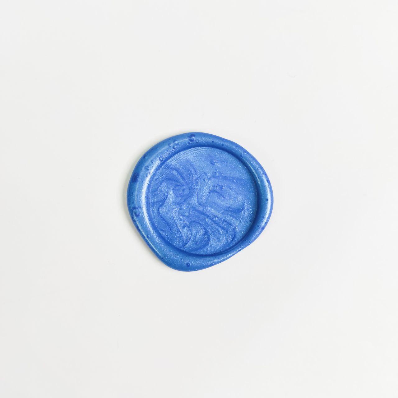 Декоративный сургуч. Цвет - Голубой.