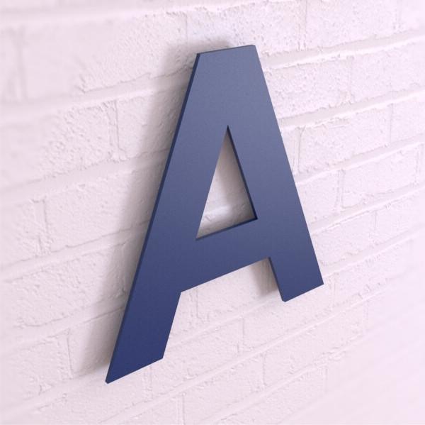 Псевдообъемные буквы из пластика