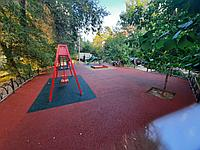 Площадка с резиновым покрытием 100 м2 (толщина покрытия 12 мм)