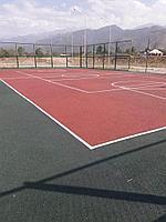 Площадка с резиновым покрытием 648 м2 (толщина покрытия 15 мм)