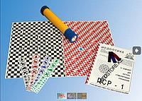 Комплект для цветовой паттерн-стимуляции МОЗАИКА (зрительная труба, альбом паттернов)