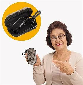 Складные увеличительные очки Фокус Плюс с футляром