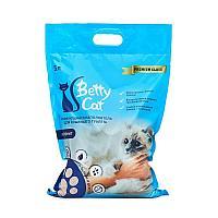 Betty Cat, комкующийся наполнитель для кошачьего туалета без аромата, 5л.(4 кг)