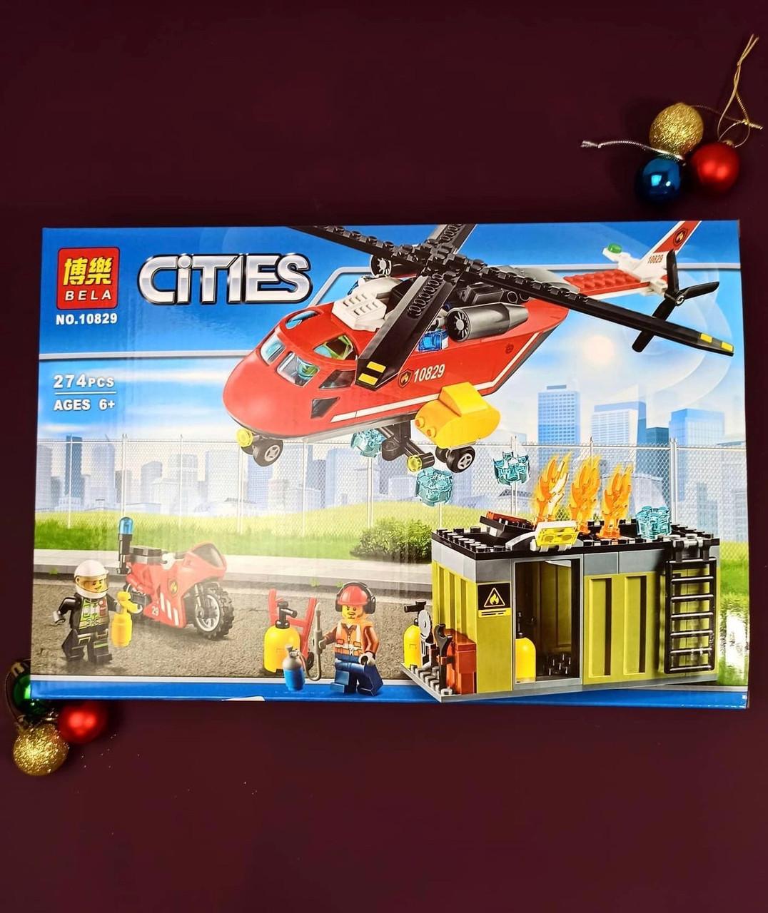 """Конструктор Cities """"Пожарная станция"""""""