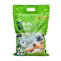Betty Cat, комкующийся наполнитель для кошачьего туалета с ароматом алое вера, 5л.(4 кг)