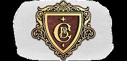Фамильный герб, худ литьё, латунь 368x400 мм под заказ