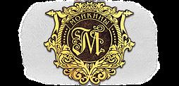 Фамильный герб, худ литьё, латунь 450x436 мм под заказ