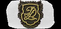 Фамильный герб, худ литьё, латунь 360x340 мм под заказ