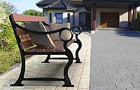 Опоры боковые Микеланджело литые скамейки