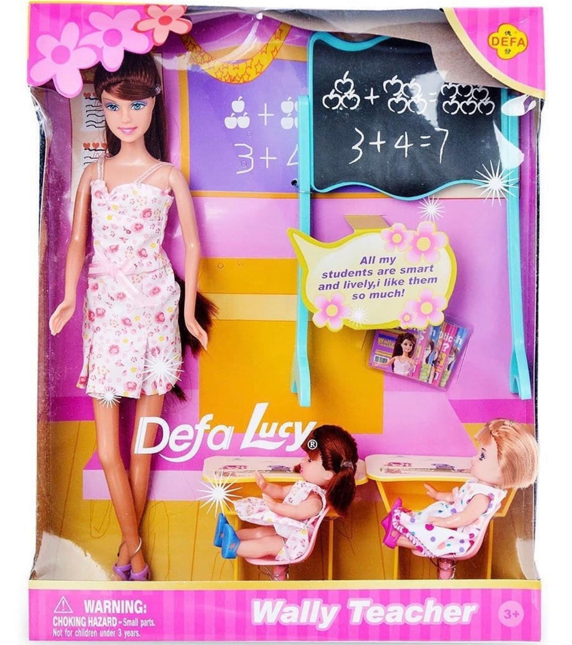 Кукла Defa Lucy Wally Teacher / школа, учительница