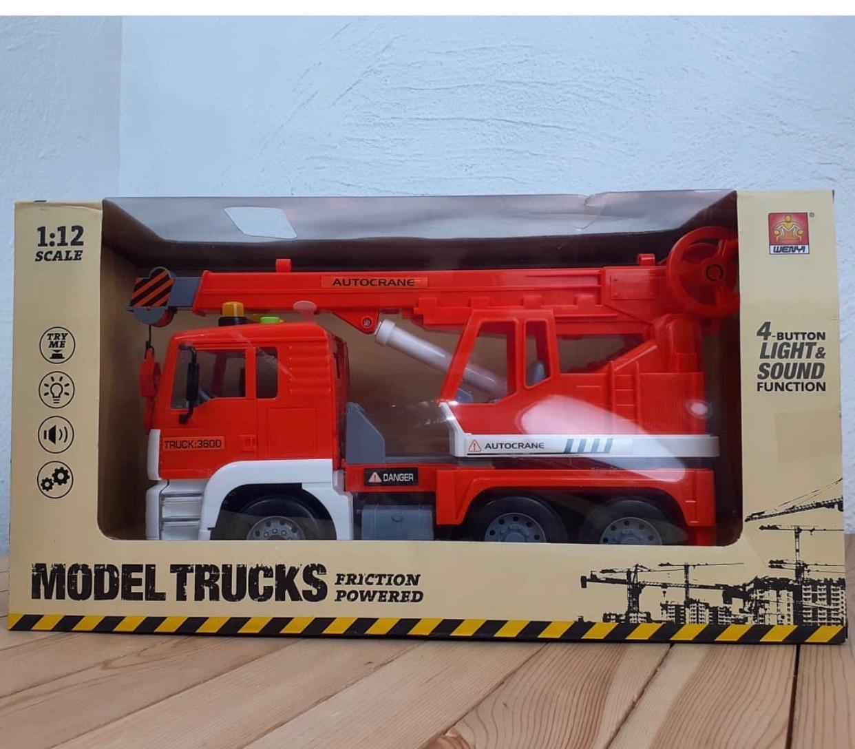 Машина кран Model Trucks