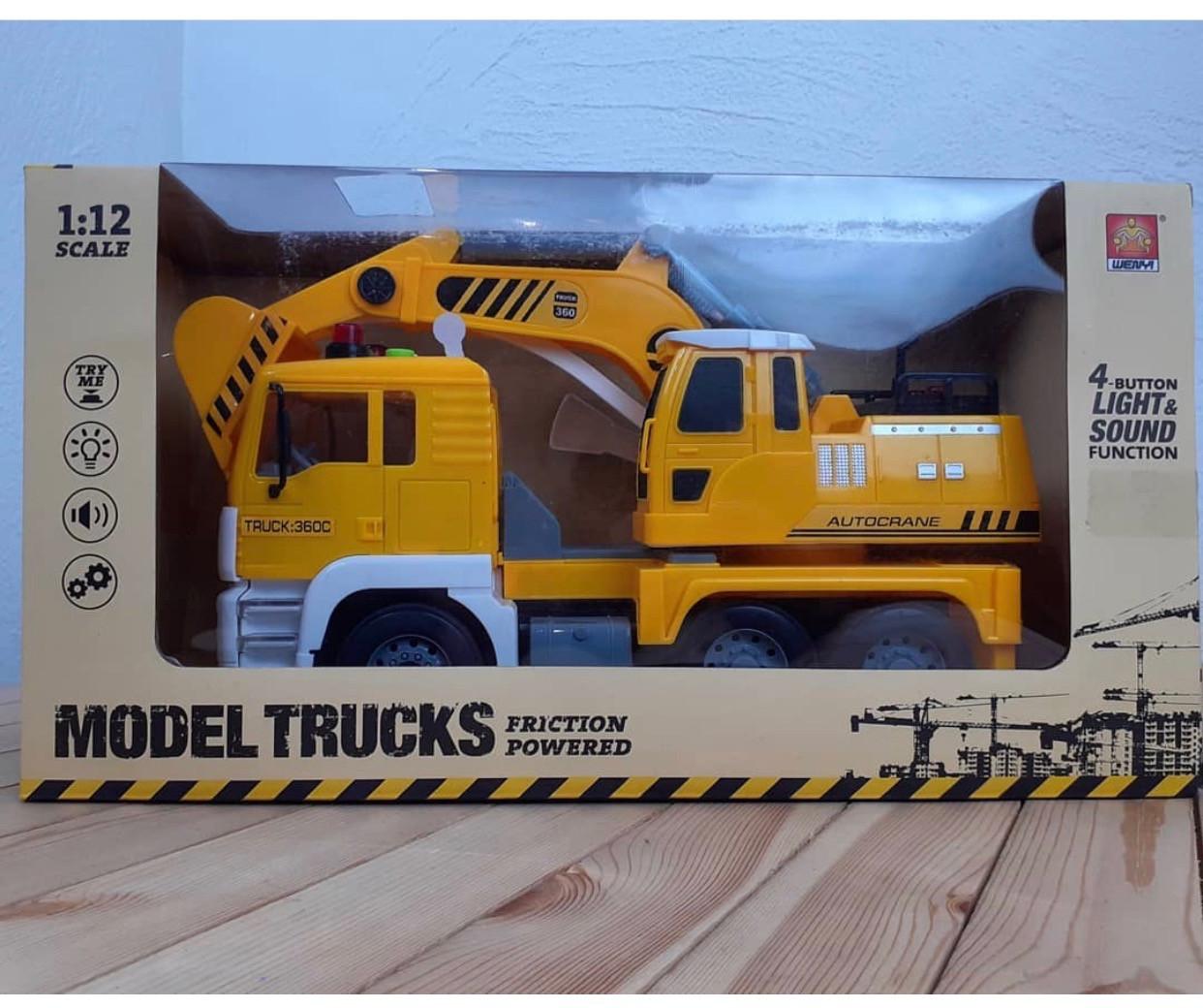 Машина экскаватор Model Trucks