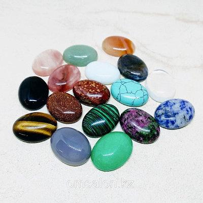 Кабошоны. Срезы натуральных камней