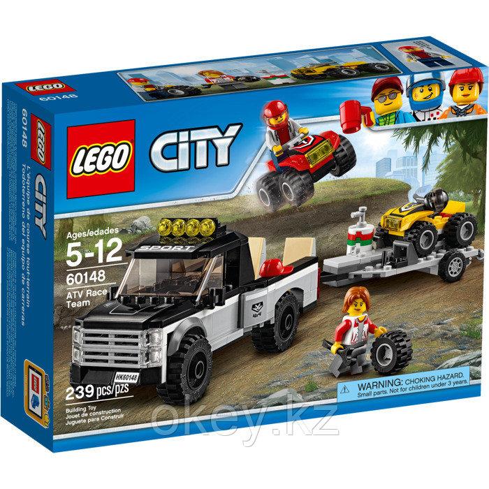 LEGO City: Гоночная команда 60148