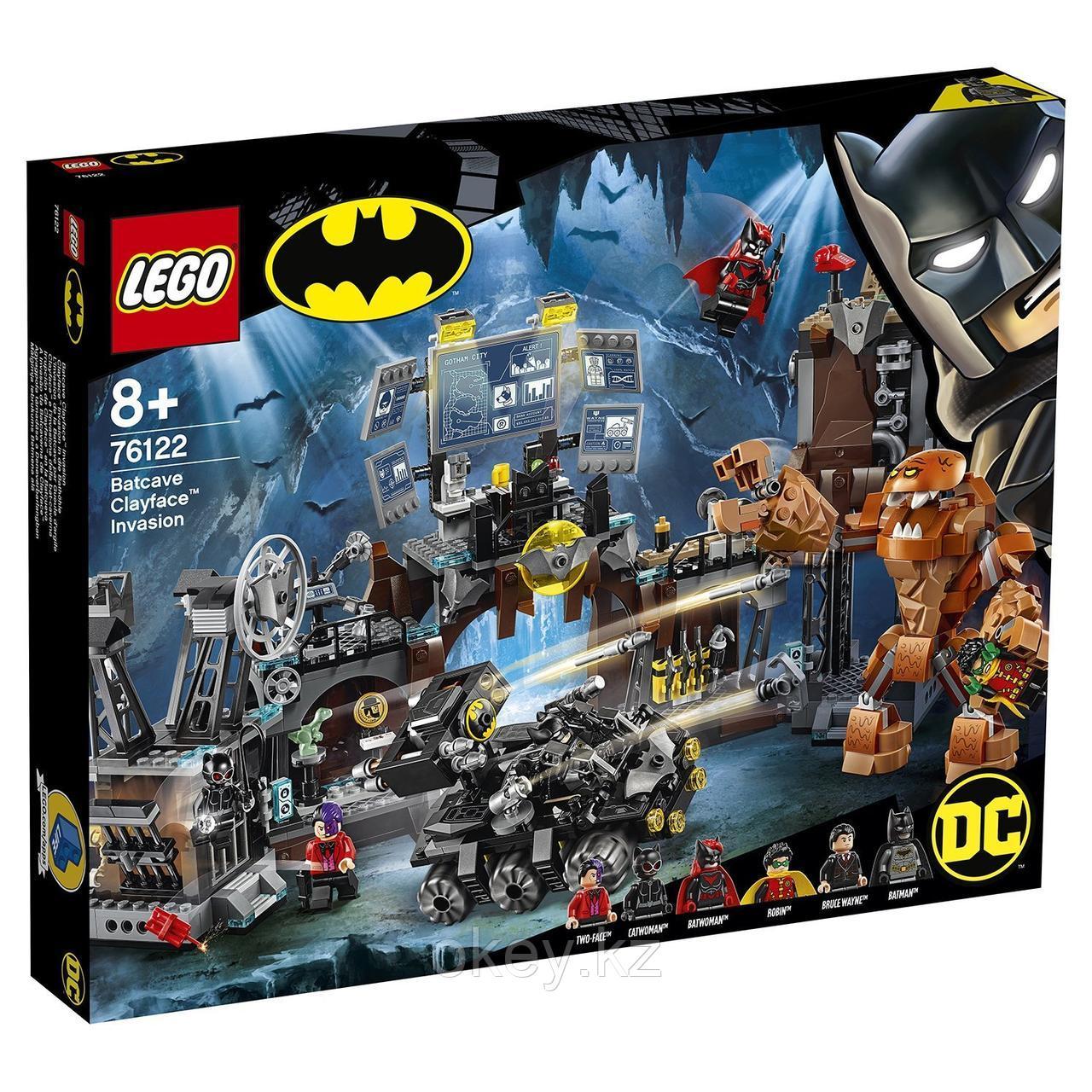 LEGO Super Heroes: Вторжение Глиноликого в бэт-пещеру 76122