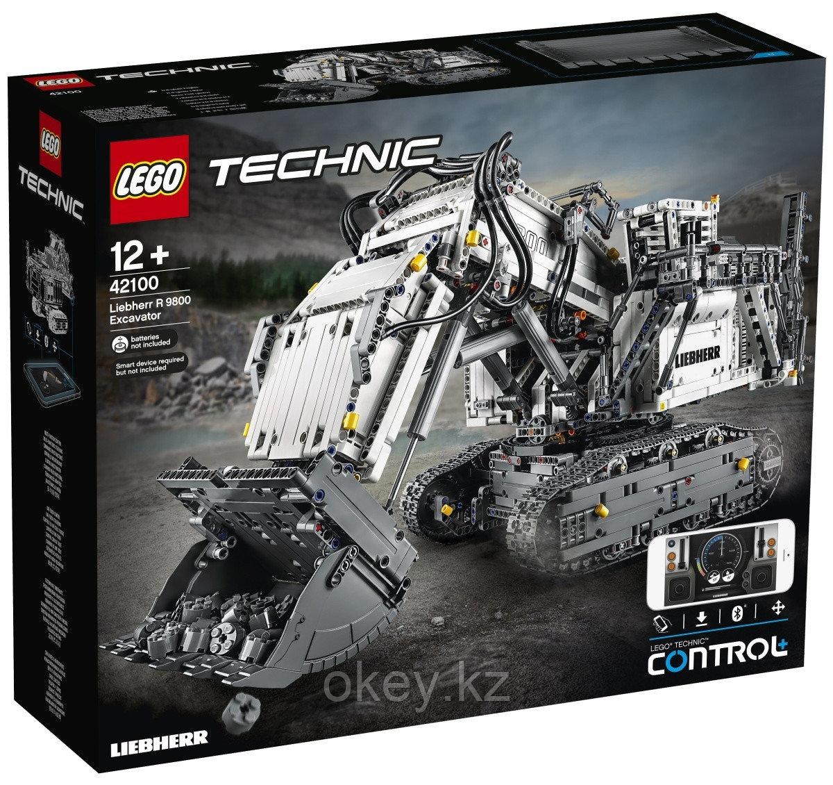 LEGO Technic: Экскаватор Liebherr R 9800 42100