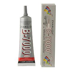 Клей Zhan Li Da B-7000 для склеивания тачскринов с рамками прозрачный 50мл