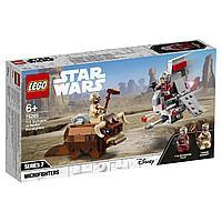 LEGO Star Wars: Микрофайтеры: Скайхоппер T-16 против Банты 75265
