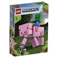 LEGO Minecraft: Большие фигурки Minecraft: Свинья и Зомби-ребёнок 21157