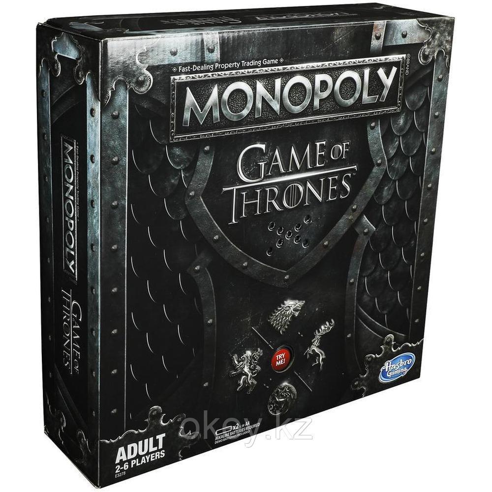 Hasbro: Игра настольная Монополия Игра престолов E3278