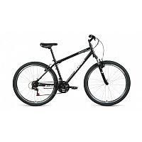 """Велосипед ALTAIR MTB HT 27,5 1.0 (27,5"""" 21 ск. рост 19"""") 2020-2021, черный/серебристый, RBKT1MN7Q005"""