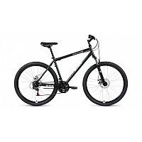 """Велосипед ALTAIR MTB HT 27,5 2.0 disc (27,5"""" 21 ск. рост 17"""") 2020-2021, черный/серебристый, RBKT1MN"""