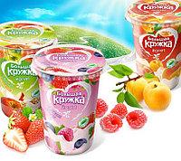 Упаковщик сметаны с фруктами в стаканчики 3000 шт/ч