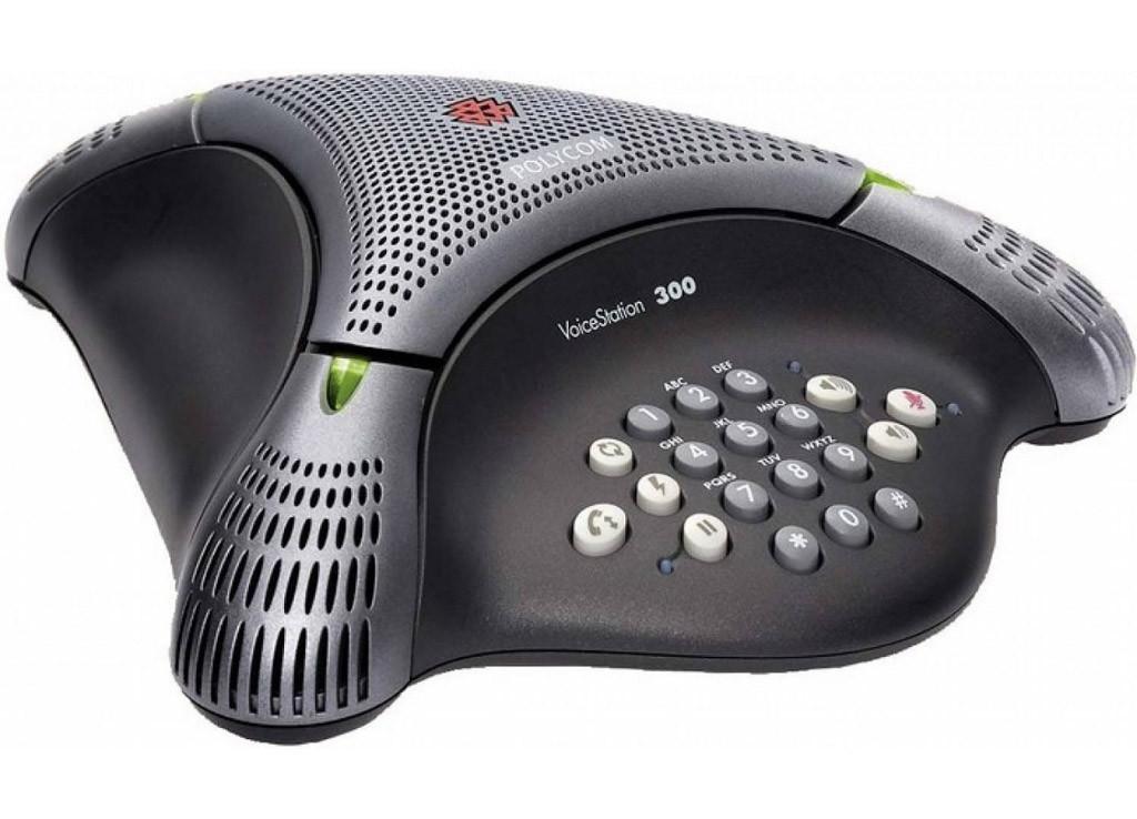 Аудиоконференция Polycom VoiceStation 300 аналоговый конференц-телефон