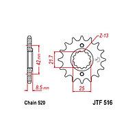 Звезда ведущая JT sprockets JTF516-15