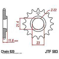 Звезда ведущая JT sprockets JTF583-14